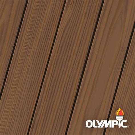 olympic maximum  gal walnut semi transparent exterior