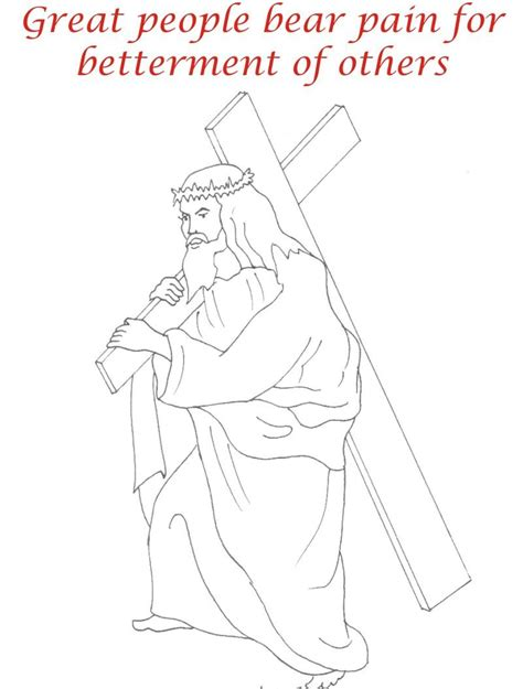 printable coloring pages for good friday good friday coloring printable page for kids 7
