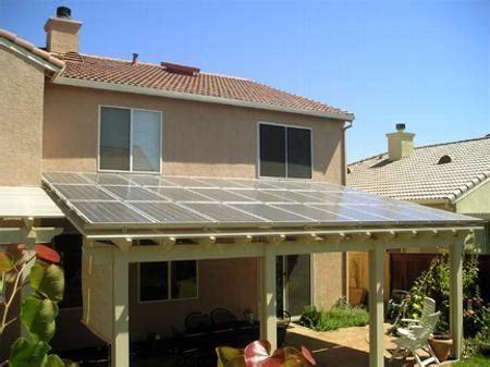 Solar Patio Covers   San Diego Temecula