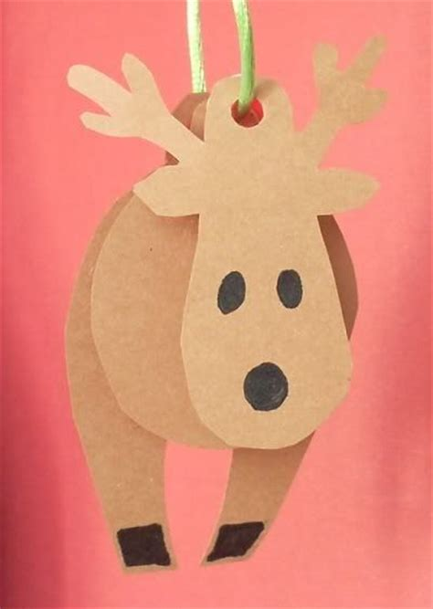 reindeer paper craft 17 best images about paper crafts on