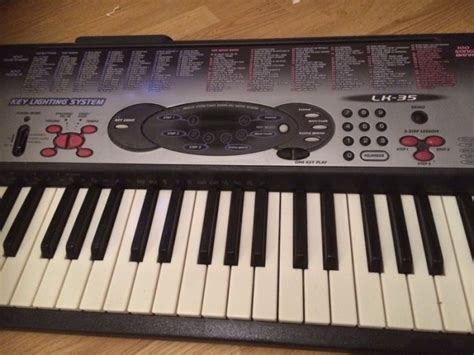 Keyboard Casio Lk 35 casio lk 35 with stand for sale in east wall dublin from
