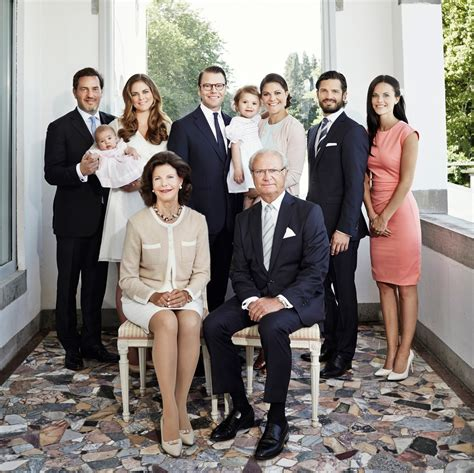royal family new official photo of the swedish royal family