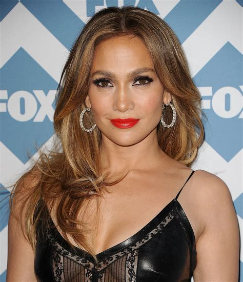 2014 new look for j lo jennifer lopez hair at fox winter tca 2014 popsugar beauty