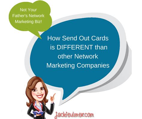 make and send cards why send out cards is a different type of network