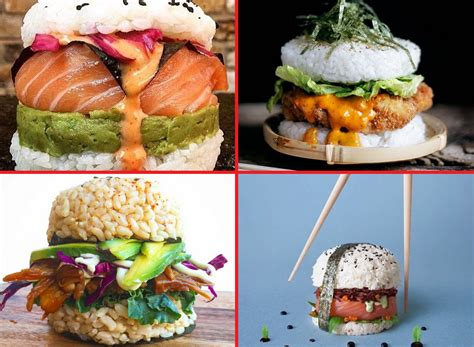 things to do with burgers for dinner sushi burgers the diy food craze that you should totally make for dinner tonight pics