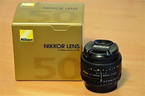 Nikkor Af 50mm F 1 8d lente nikon 50mm f 1 8d af nikkor lens r 508 99 em