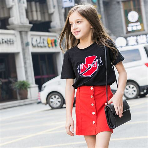 fashion for 11 year olds 2013 2016 latest fashion kids summer t shirt baby girl black