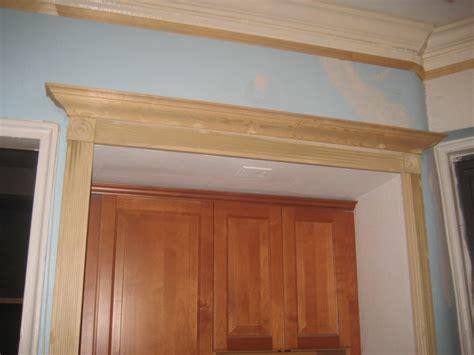 Door Crown Molding by Crown Molding Above Door Kitchen Crown
