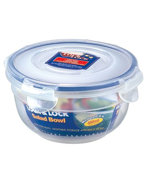 Promo Lock N Lock Container Tempat Makan Classic Gift Set lock lock classic polypropylene pp nestables salad container buy at best price