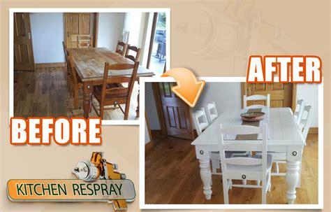 spray paint kitchen table furniture respray kitchen respray