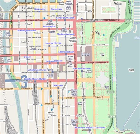 chicago loop map file chicago loop map png