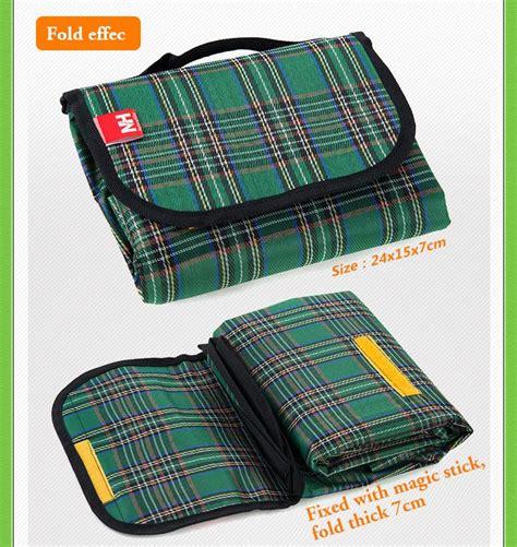 Tikar Piknik Tikar Lipat tikar lipat bentuk tas kecil alas piknik praktis