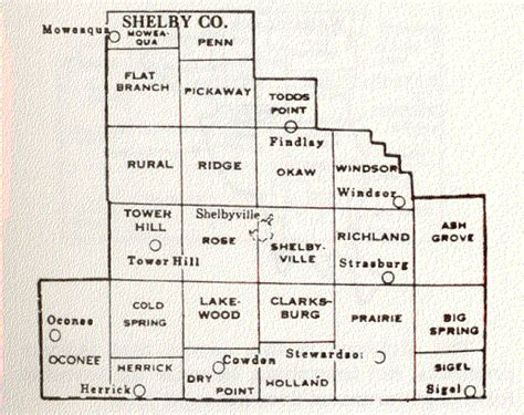 shelby township map shelby county illinois maps and gazetteers
