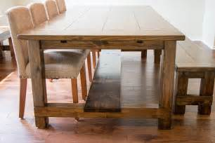 farmhouse dining room table diy types