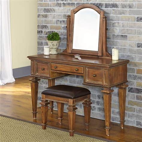 vintage bedroom vanity set bedroom vanities at hayneedle home styles americana vintage vanity and mirror bedroom