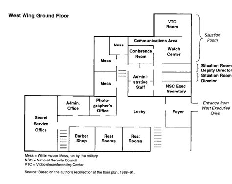White House Floor Plan West Wing by White House Floor Plan West Wing Images
