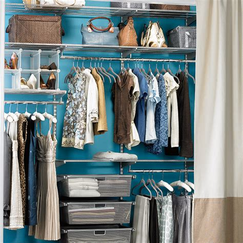 Shop In Your Own Closet by Platinum Elfa Reach In The Container Store
