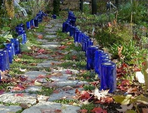 Recycling Ideas For The Garden Glass Recycling Ideas For Green Building And Outdoor Home Decorating