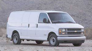 how cars run 1998 chevrolet g series 1500 spare parts catalogs 1998 chevrolet chevy van specifications car specs auto123