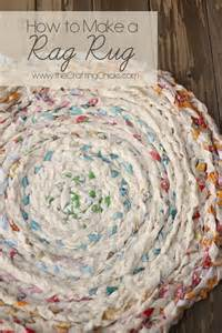 Rag Rug How To How To Make A Rag Rug Can You Sew With Me Pinterest