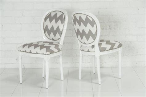 Chevron Dining Chairs Www Roomservicestore Chevron Print Louis Dining Chair