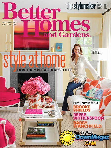 home design magazines usa better homes and gardens usa september 2015 187 download