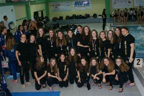 ragazze futura ancora podi regionali per il sincro team della futura