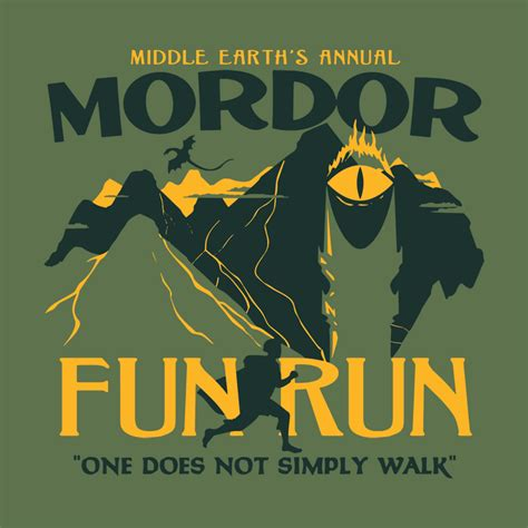 Ten Food Tees Your Friends Will Covet by Mordor Run T Shirt Snorgtees