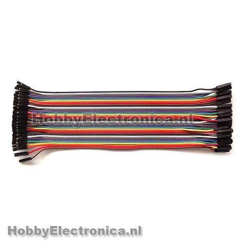 Jumper Kabel 20cm For Breadboard Modules dupont breadboard jumper kabels 20cm