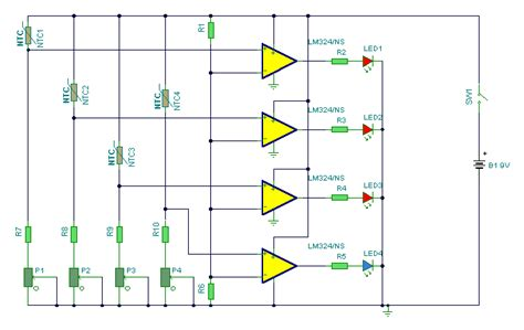 why resistors are used in water level indicator water level indicator