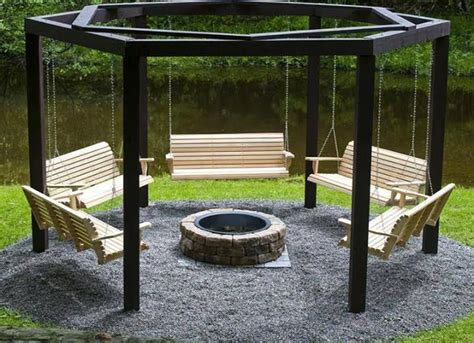 fire pit surrounded by swings fire pit surrounded by swings win dream home pinterest