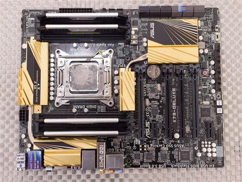 wallpaper asus deluxe intel core i7 4960x ee cpu asus x79 deluxe motherboard