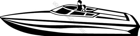 speed boat clipart black and white fast boat clipart clipground