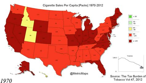 us map by year how the us stubbed out their cigarettes map