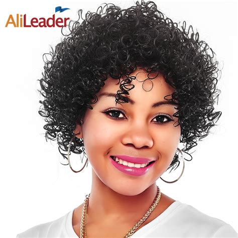 transitional hair styles for middle age black women compra cortas pelucas afro online al por mayor de china