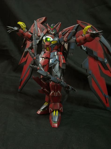gundam epyon wallpaper mg gundam epyon improved painted build weathered w leds