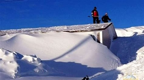 House Plans Nl by Snowed In Newfoundland Couple Describe Their Late Winter