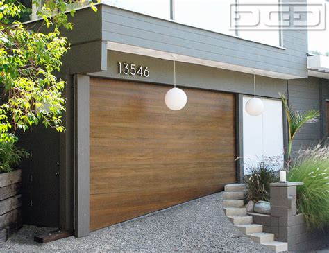 Mid Century Modern Garage Doors by A Midcentury Modern Carport Converted Into A Garage With A Sloping Door Midcentury San