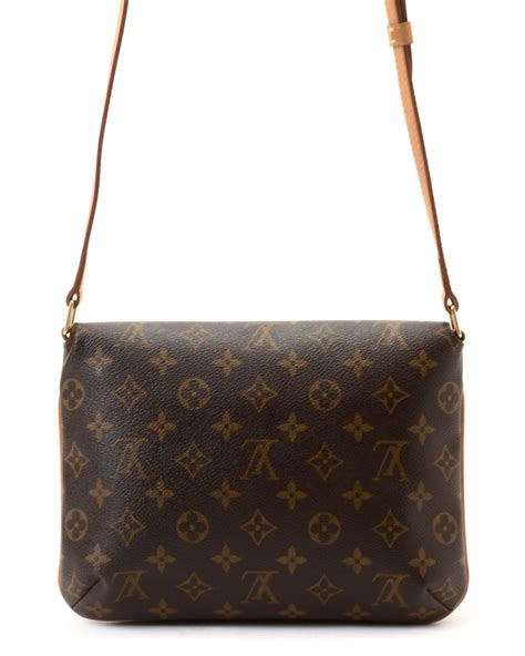 Louis Vuitton Tressage Classic 2993 lyst louis vuitton shoulder bag vintage in brown
