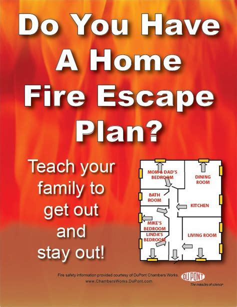 fire safety plan for home fire prevention for kids home fire escape planner
