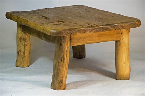 handmade wooden coffee table by kwetu