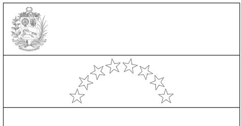 coloring page of venezuela flag geography blog venezuela flag coloring page