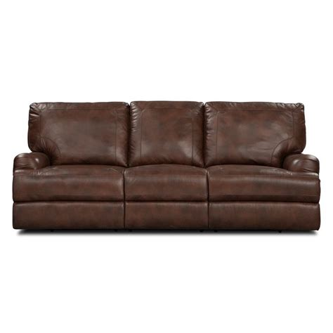 furniture power recliner sofa 1000 ideas about reclining sofa on leather