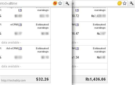 currency converter chrome display adsense earnings in your own currency