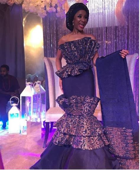 adesua etomi outfits adesua etomi s 4 outfits at her traditional wedding baad