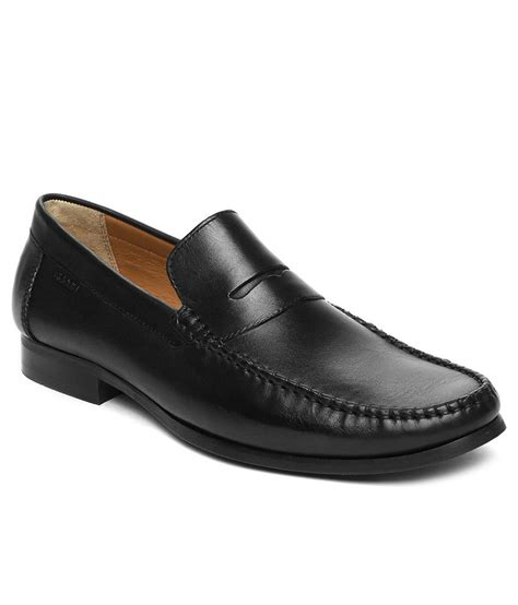 buy ruosh black formal shoes for snapdeal
