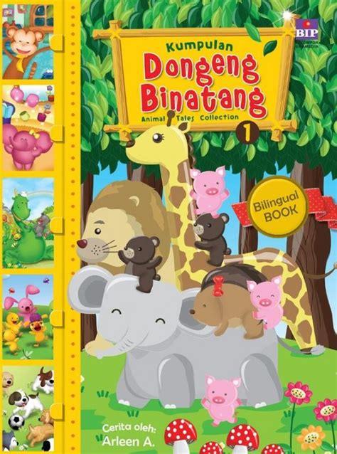 Buku Anak Dongeng Dunia Binatang Dua Bahasa bukukita kumpulan dongeng binatang 01