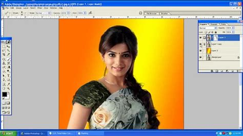 tutorial photoshop 7 0 youtube photoshop telugu tutorials how to cut hair in photoshop