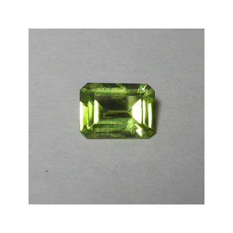 m7195 green peridot memo batu permata green peridot 0 96 carat kualitas aduhai