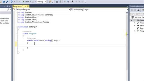 design application visual studio create a basic console application visual studio 2013 c